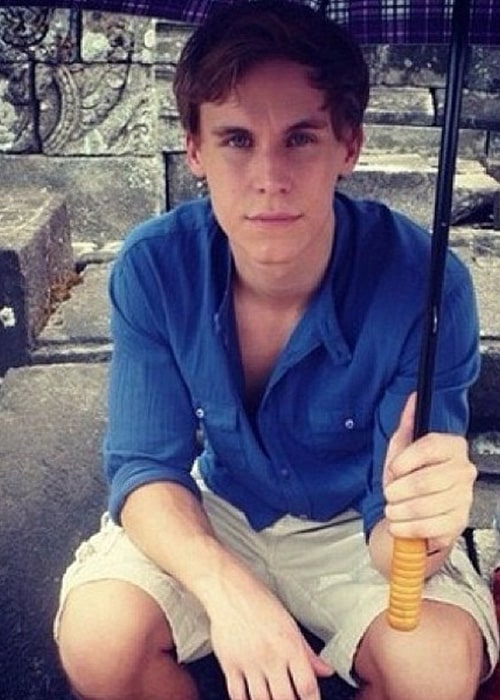 Rhys Wakefield as seen on his Instagram Fan Page in July 2013