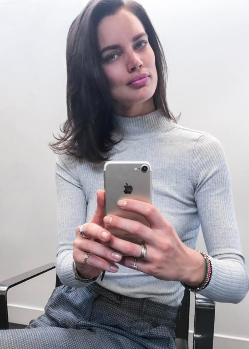 Rianne ten Haken in an Instagram selfie as seen in April 2017