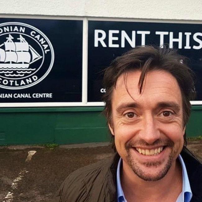 Richard Hammond as seen in a selfie