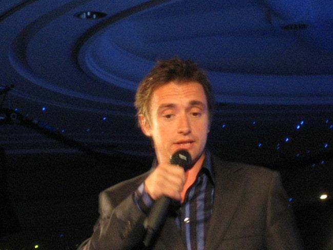 Richard Hammond as seen presenting the IoF National Awards in 2006