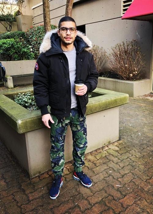 Rick Gonzalez as seen in March 2018