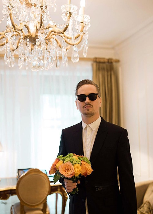 Robin Schulz as seen on his Instagram Profile in February 2019
