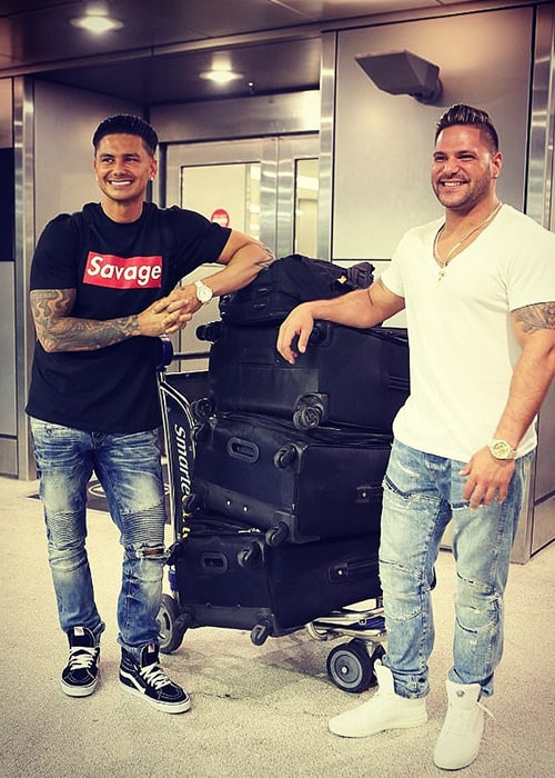 Ronnie Ortiz-Magro as seen on his Instagram Profile in February 2018