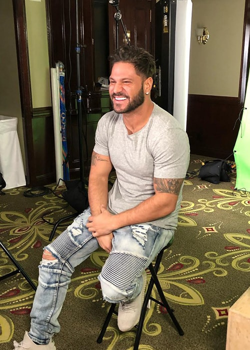 Ronnie Ortiz-Magro as seen on his Instagram Profile in January 2019
