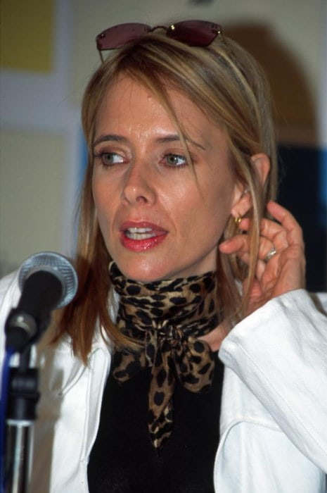 Rosanna Arquette at Cannes in 2002