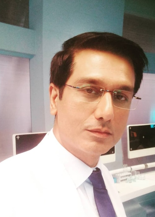 Sachin Khurana as seen in a selfie taken in July 2018