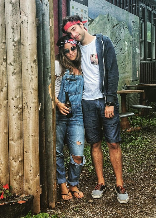 Scott Harris with his Girlfriend Rachel Brown as seen on his Instagram Profile in January 2018