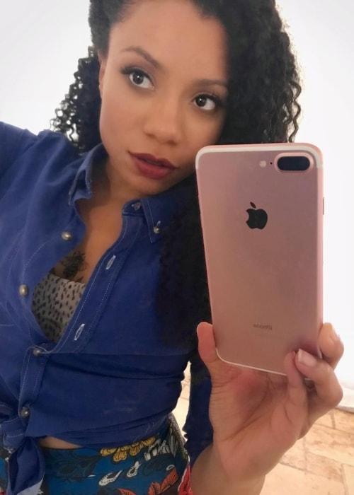 Shalita Grant as seen in a selfie taken in March 2019