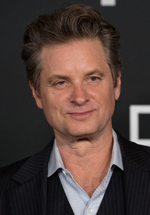 Shea Whigham as seen while on the red carpet for the premiere of the film 'First Man' at the Smithsonian National Air and Space Museum Thursday on October 4, 2018, in Washington