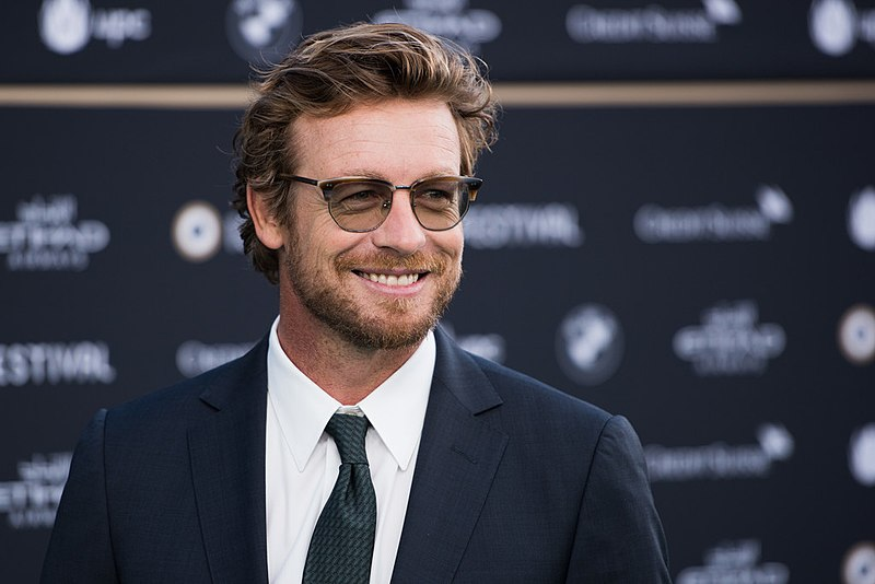 Simon Baker at Simon Film Festival in September 2017