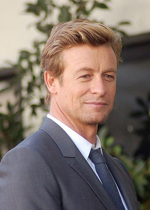 Simon Baker at a Ceremony on the Hollywood Walk of Fame in February 2013