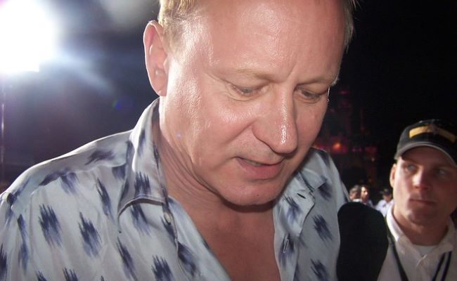 Stellan Skarsgård as seen in January 2004