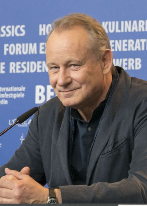 Stellan Skarsgård at the press conference of Return to Montauk at the 2017 Berlin International Film Festival