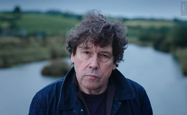 Stephen Rea Talking on Financial Times YouTube Channel in September 2018