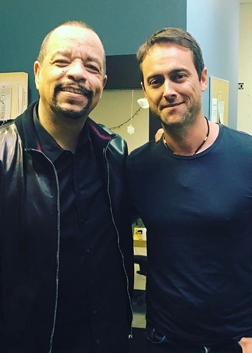 Stuart Townsend with Ice-T as seen on his Instagram Profile in April 2017