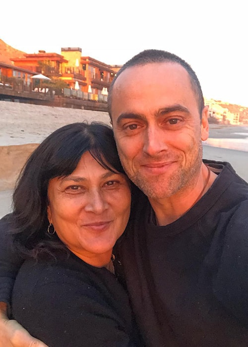 Stuart Townsend with his Friend Vanessa as seen on his Instagram Profile in December 2018
