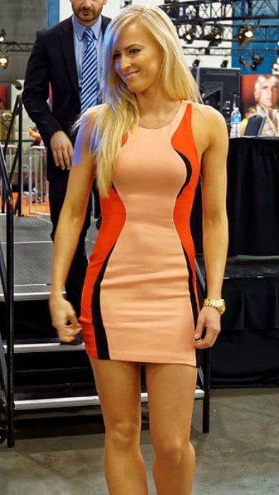 Summer Rae as seen at WrestleMania Axxess in 2015