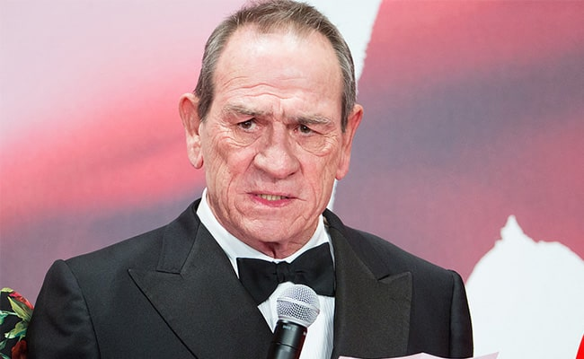 Tommy Lee Jones Speaking at the Opening Ceremony of the Tokyo International Film Festival in 2017