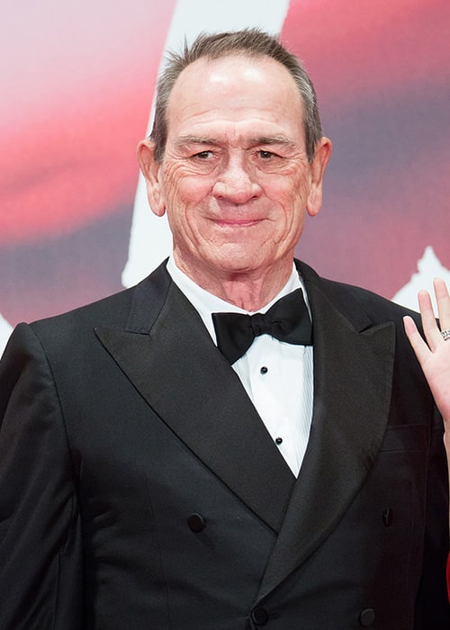 Tommy Lee Jones as the Jury President at the Opening Ceremony of the Tokyo International Film Festival in 2017