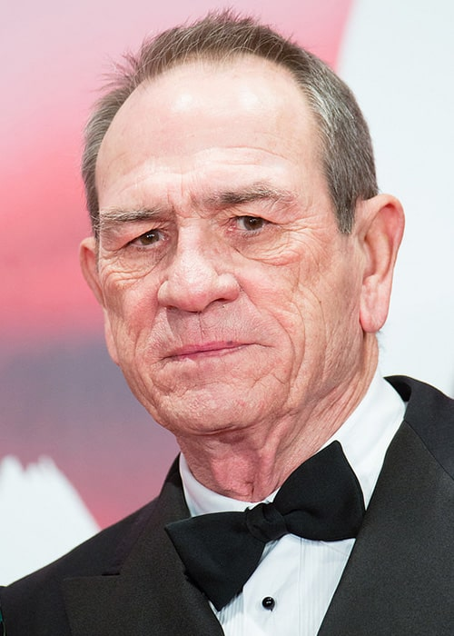 Tommy Lee Jones at the Opening Ceremony of the Tokyo International Film Festival in 2017
