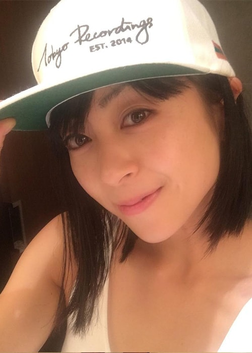 Utada Hikaru in an Instagram Selfie in September 2016