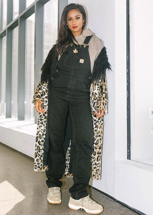 Vashtie Kola as seen on her Instagram Profile in February 2019