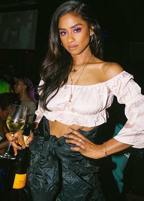 Vashtie Kola as seen on her Instagram Profile in March 2019