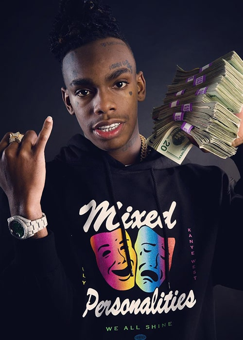 YNW Melly as seen on his Instagram Profile in February 2019