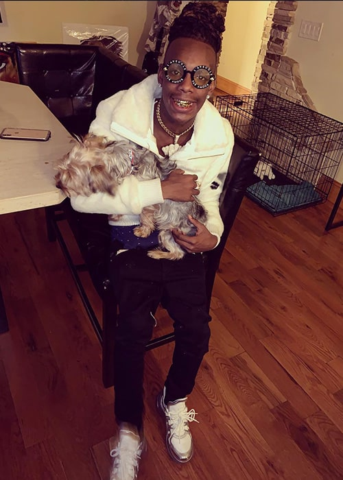 YNW Melly as seen on his Instagram Profile in January 2019