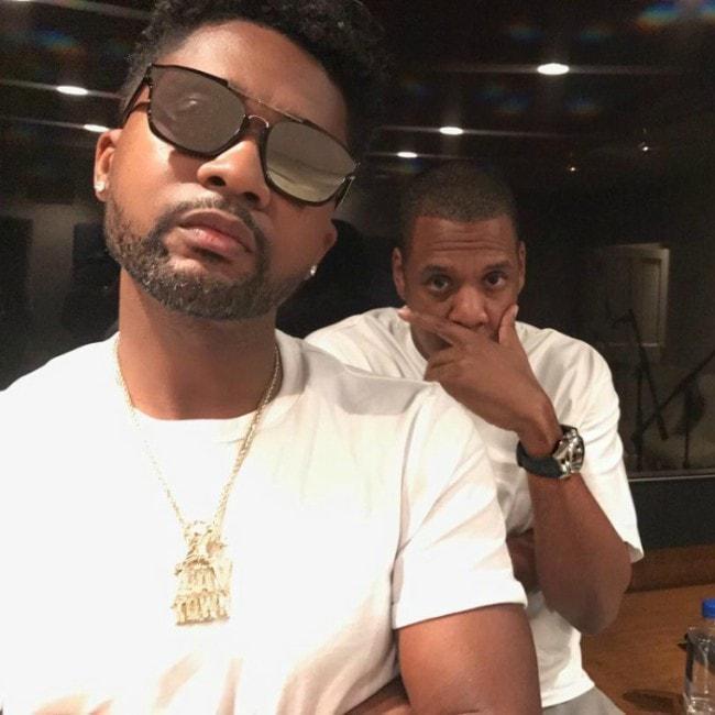 Zaytoven as seen in an Instagram selfie with rapper Jay Z in August 2018
