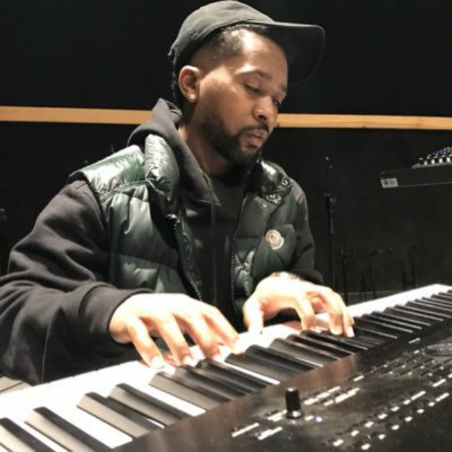 Zaytoven as seen working in his studio in February 2019