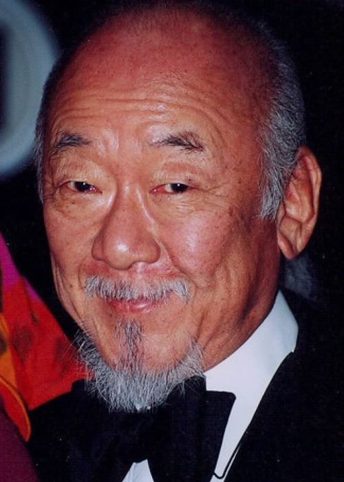 A Photograph of Pat Morita Took Sometime in the Past