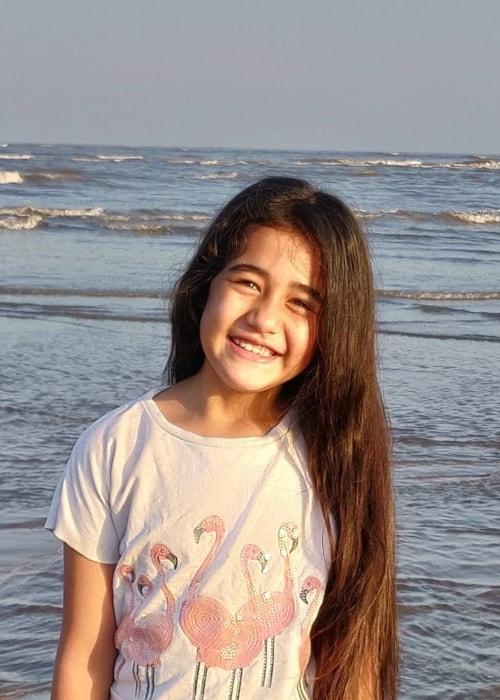 Aakriti Sharma as seen in a picture taken in April 2019