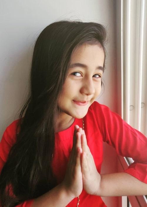 Aakriti Sharma as seen in a picture taken in January 2019