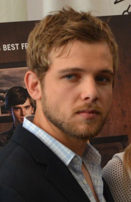 Actor Max Thieriot from Bates Motel