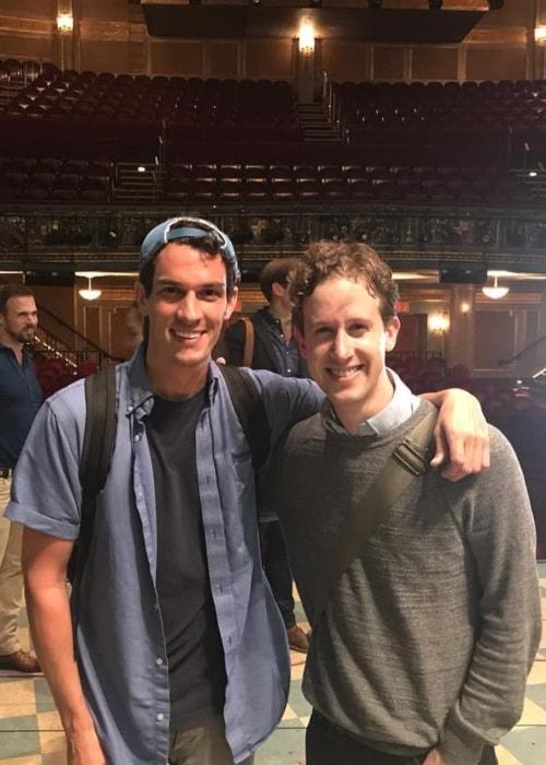 Alex Wyse as seen in a picture with Preston Sadleir in October 2018
