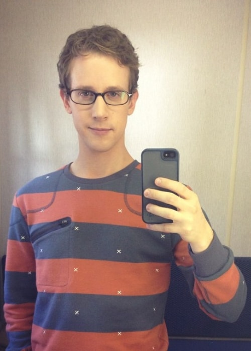 Alex Wyse as seen in a selfie taken in October 2014