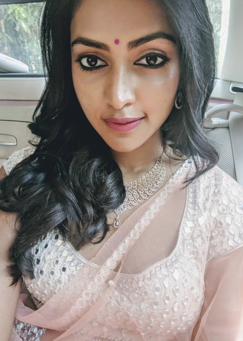 Amala Paul as seen in a selfie taken in March 2018