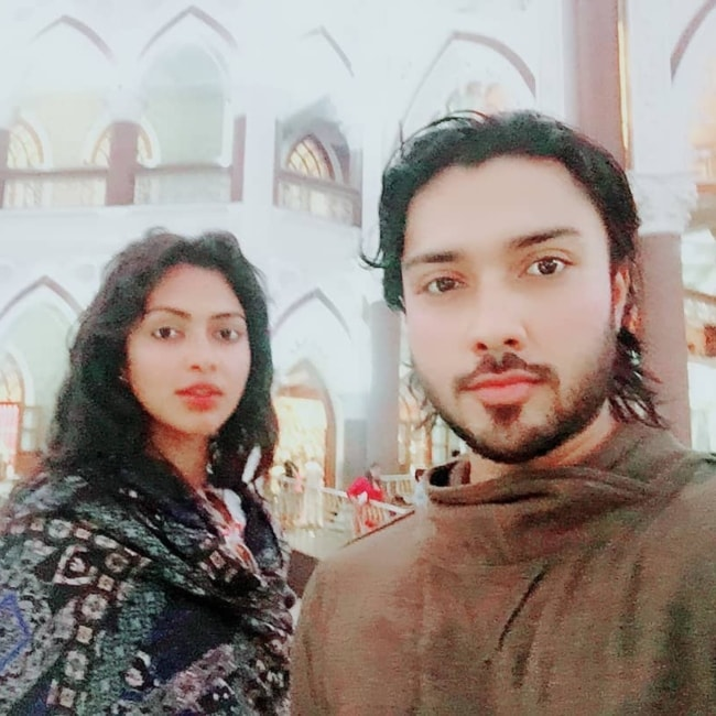 Amala Paul as seen in a selfie with her brother Abijith Paul in March 2018
