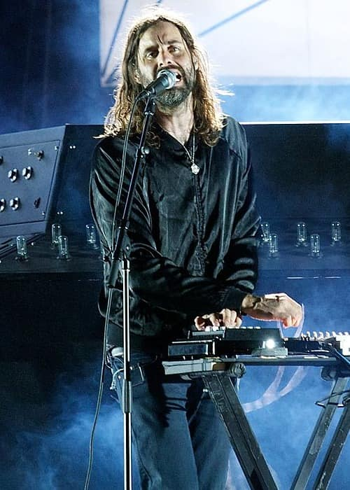 Andrew Wyatt performing at Coachella in April 2012