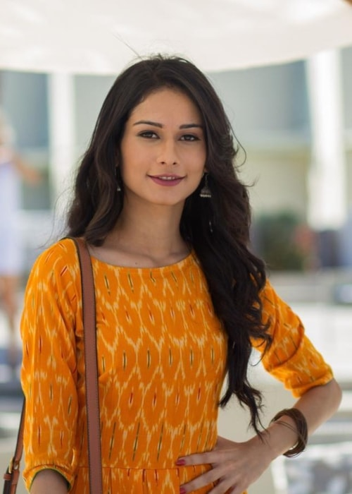 Aneri Vajani as seen in a picture taken in April 2017