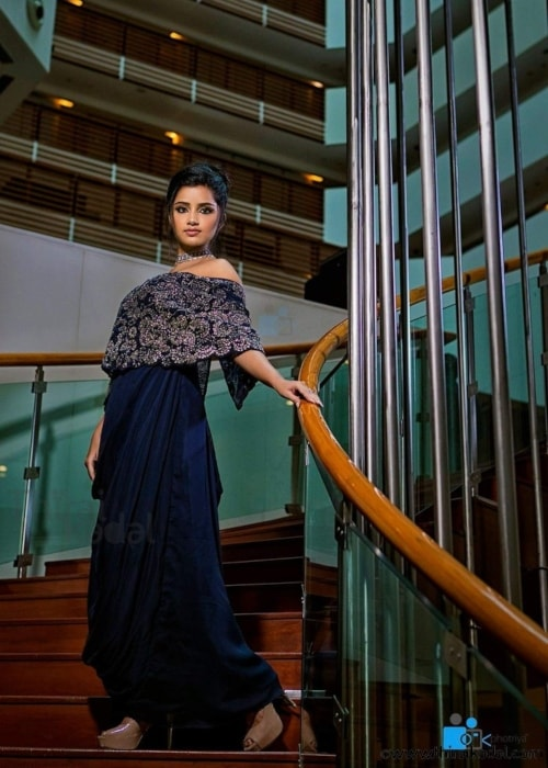 Anupama Parameswaran as seen in a picture taken in July 2017