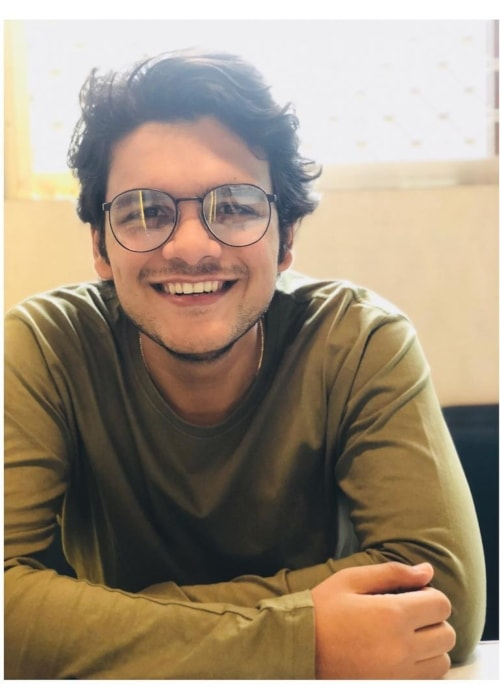 Bhavya Gandhi as seen in a picture taken in August 2018