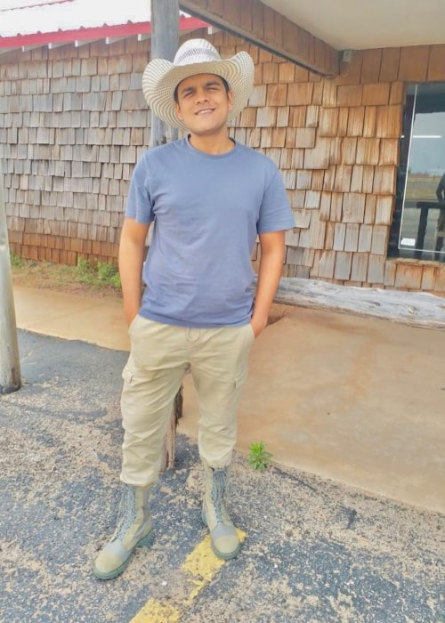 Bhavya Gandhi as seen in a picture taken in Roscoe, Texas, United States of America in April 2018