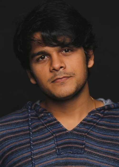 Bhavya Gandhi as seen in a picture taken in September 2018