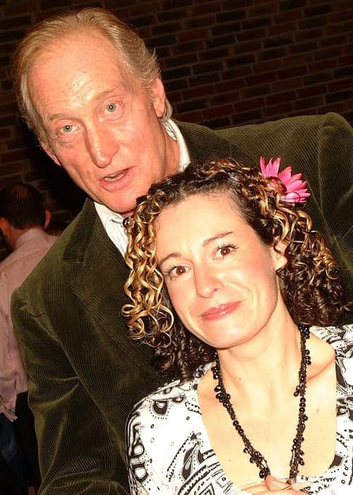Charles Dance and Kate Rusby as seen in February 2006
