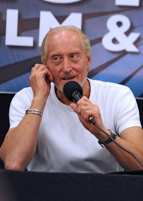 Charles Dance at the London Film and Comic Con in July 2012