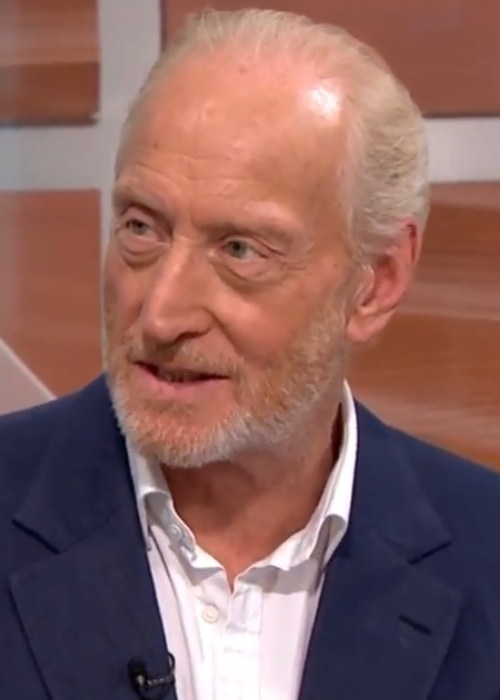 Charles Dance during an interview in August 2017