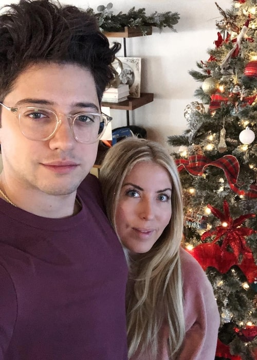 Chris Galya as seen while taking a Christmas selfie with Heather Catania in December 2018