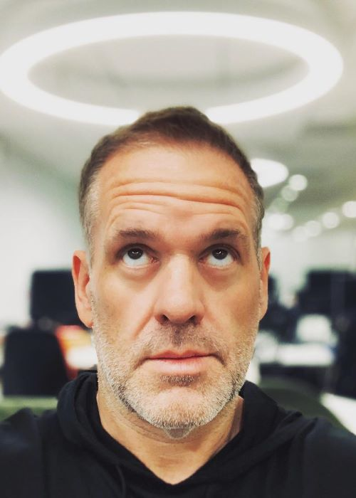 Chris Moyles as seen on his Instagram Profile in October 2018